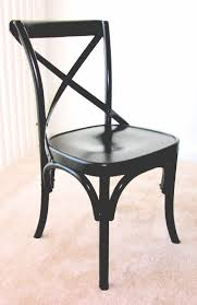 4 pottery barn black bentwood x back chairs black bentwood chairs