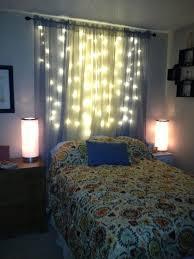 christmas lights bedroom christmas lights and curtain lights on pinterest bedroom headboard lighting