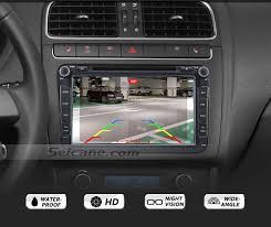 <b>170</b>° HD Waterproof Blue Ruler Night Vision <b>Car Rear</b> View Camera ...