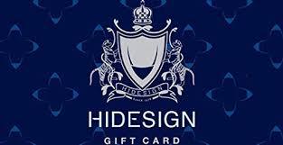 Hidesign - Instant Voucher: Amazon.in: Gift Cards