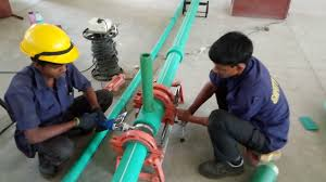 <b>PPR Pipe</b> Joint work on site R.B.Gangal & Co. - YouTube