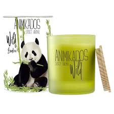 <b>Свеча ароматическая Panda</b> - бамбуковый Wild — купить по цене ...