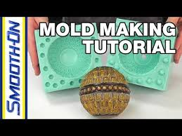 How To Make a 2 Piece <b>Silicone Rubber</b> Mold   Mold Making Tutorial