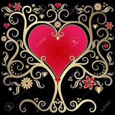 Image result for free image of a golden heart