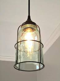 rustic cage half gallon mason jar pendant light bathroom fans middot rustic pendant