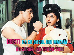 10 cool Bollywood movie quotes on friendship that you NEED to use ... via Relatably.com