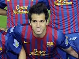 andres iniesta Barcelona cesc fabregas datang ke Dia Pemain Sepakbola penampilannya sepak bola xavi hernandez