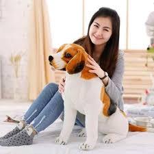 <b>lovely</b> squatting beagle <b>dog plush toy</b> birthday gift t0622 gift series ...