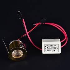 Lighting 1x 1W <b>LED</b> Small <b>Cabinet</b> Mini Spot Lamp Light Downlight ...