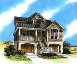Ideas coastal home plans on pilingsexceptional coastal house plans on pilings   beach house plans pilings home