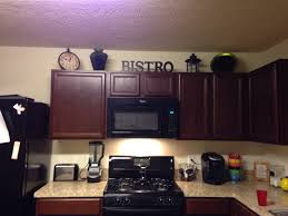 For Decorating A Kitchen Decorate Above Kitchen Cabinets Home Decor Decorating Above The