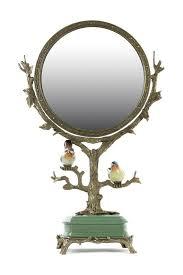 <b>Зеркало настольное</b> с птицами <b>ГЛАСАР</b> арт 31G2105/B1293EHC ...