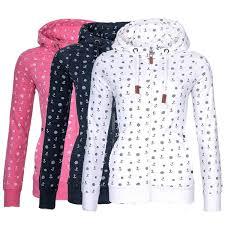 <b>2017</b> Anchor Printed <b>Sweatshirts Women Fashion</b> Long Sleeved ...
