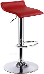 <b>Bar Stool Faux</b> Leather Kitchen Stool Barstool Brown Seat Adjust 62 ...
