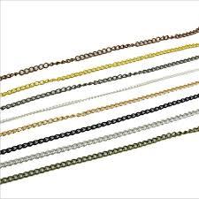 <b>5m</b>/<b>lot</b> 3*5mm <b>Metal Necklace</b> Extended <b>Chains</b> Bulk Fit Bracelets ...