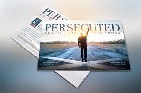 creative church templates inspiks market persecuted church flyer template