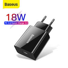 <b>Baseus Dual</b> USB Fast Charger <b>30W</b> Support Quick Charge 4.0 3.0 ...