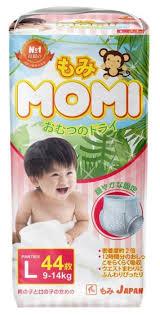 <b>Momi трусики L</b> (9-14 кг.) 44 шт. — купить по выгодной цене на ...