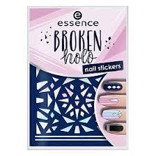 Essence <b>Наклейки для ногтей Broken</b> Holo № 12, 1 шт. - купить ...
