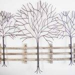 tree scene metal wall art: wall art designs metal wall art trees metal wall art winter tree scene