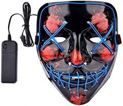 Lumiere Halloween Scary Light Up LED Purge Mask ... - Amazon.com
