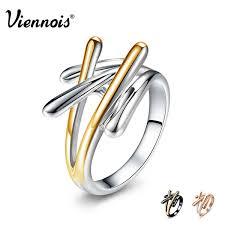 2019 Brand Rings For Women <b>Viennois Gold</b> &Amp; <b>Rose Gold</b> ...