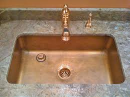 hammered copper kitchen sink: smooth single bowl undermount sold for