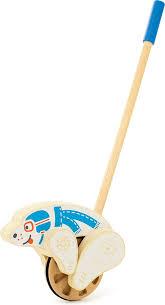 Мир <b>деревянных игрушек</b> Игрушка-каталка <b>Мишка</b> — купить в ...