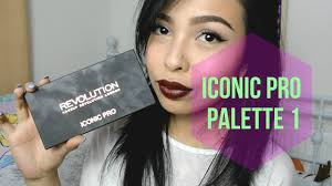 <b>MakeupRevolution Iconic Pro</b> 1 Makeup Tutorial | whatsupjane ...