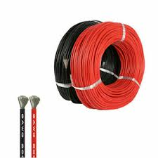 <b>10m Flexible</b> Silicone Wire Cable <b>16 AWG</b> Black Red Super Soft BR ...