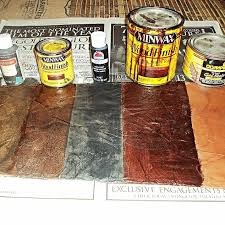 how to create a faux leather finish using brown paper painted furniture repurposing upcycling can you paint leather furniture