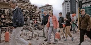 نيوزيلندا - زلزال قوي وتوابع يتسبب بدمار هائل ومقتل شخصين