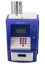 <b>Копилка</b> Банкомат синяя <b>ЭВРИКА</b> 91910, цвет синий, код ...