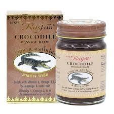 <b>Бальзам для массажа с</b> крокодильим жиром. Rasyan Crocodile ...