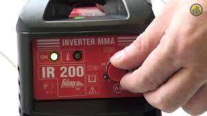 <b>Сварочный инвертор Fubag</b> IR 200 - YouTube