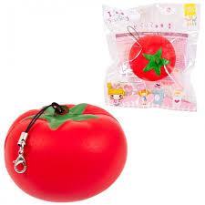 <b>Развивающая игрушка Junfa</b> антистресс <b>Мялка</b>-сквиши Томат ...