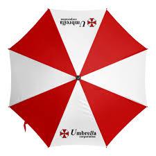 Зонт-трость с деревянной ручкой Обитель зла. Корпорция ...