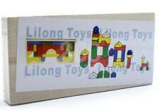 <b>Деревянные игрушки</b> строительные детский замок - огромный ...