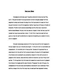 king lear essay   gcse english   marked by teachers compage  zoom in