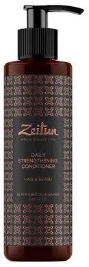 Zeitun Бальзам-<b>кондиционер для волос</b> и бороды <b>укрепляющий</b> с ...