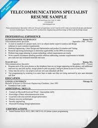 telecommunications technician resume template telecommunications    telecommunications resume samples telecommunications technician resume template