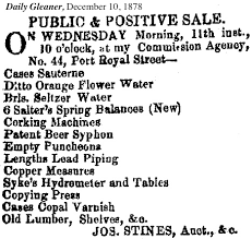an interesting piece of early office equipment apparently available in jamaica from the end of the 1870s at least the ones in jamaica may have been century office equipment