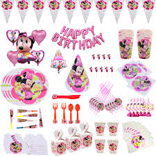 Minnie Mouse ballons Birthday <b>party</b> Decoration For kids Gift ...