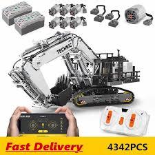 <b>Mould King</b> 13130 <b>high tech</b> Car Toys Compatible Liebherr R 9800 ...
