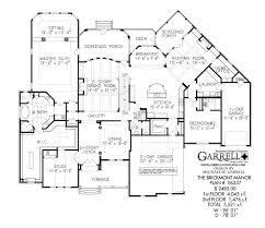 Brickmont Manor House Plan   House Plans by Garrell Associates  Inc brickmont manor house plan   st floor plan