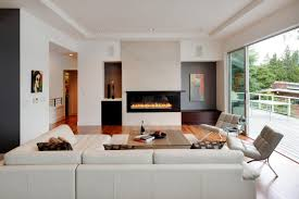 room wall decor monochromatic linear