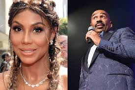 steve harvey signs tamar braxton to production deal after the steve harvey said he s working tamar braxton left on a new talk show