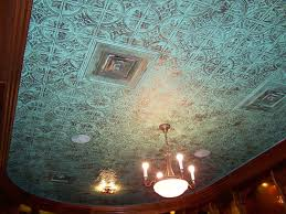 sagging tin ceiling tiles bathroom: see  quot pattern custom painted
