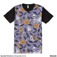 Spooky <b>Pattern</b> | Shirt designs, Printed shirts, Mens tops