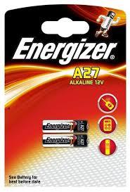 Купить <b>Батарейка</b> Energizer <b>A27</b> 2 шт блистер по низкой цене с ...